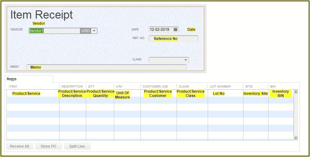 Import Receipts Into Quickbooks Desktop