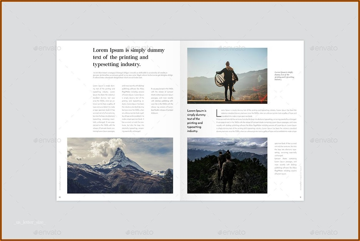 Indesign Booklet Templates Free
