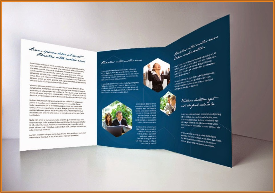 Indesign Tri Fold Brochure Templates Free Download