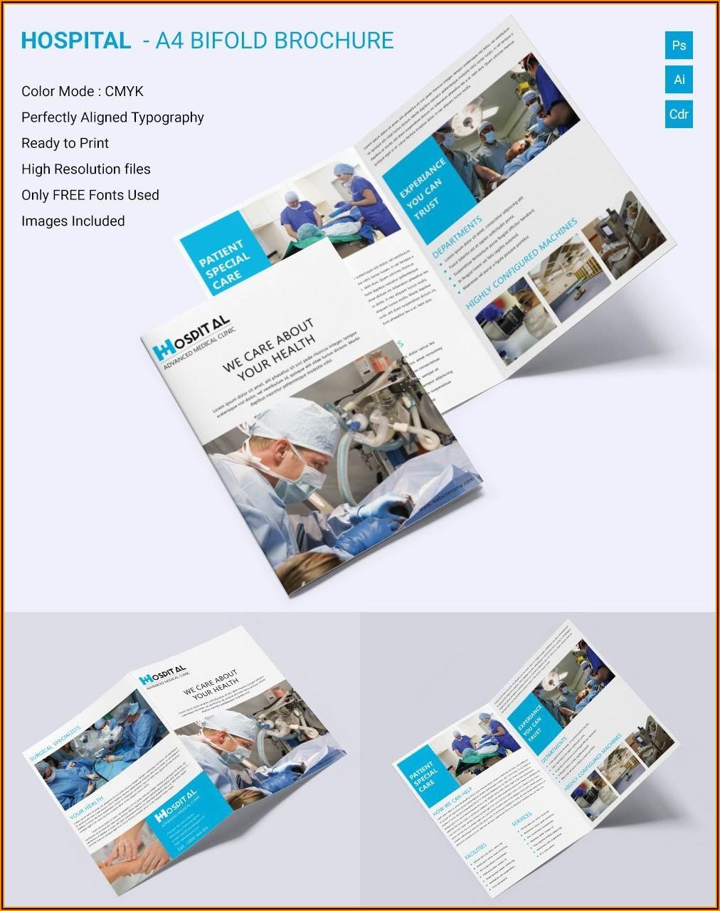 Medical Brochure Templates Psd Free Download