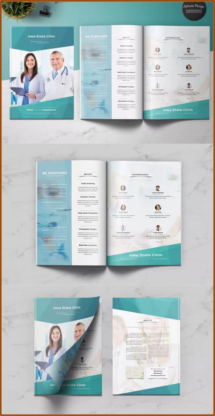 Microsoft Word Medical Brochure Template