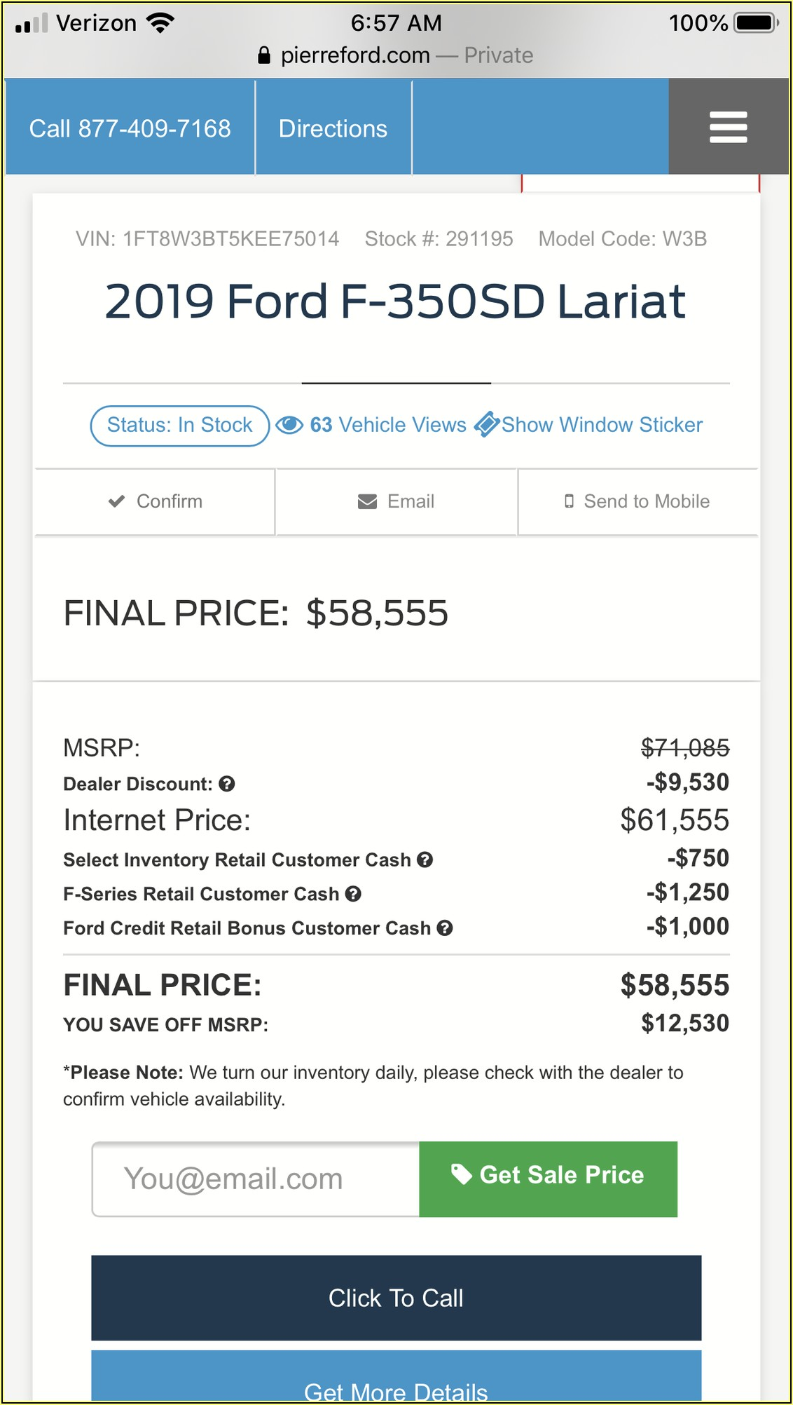Msrp Vs Invoice Percentage
