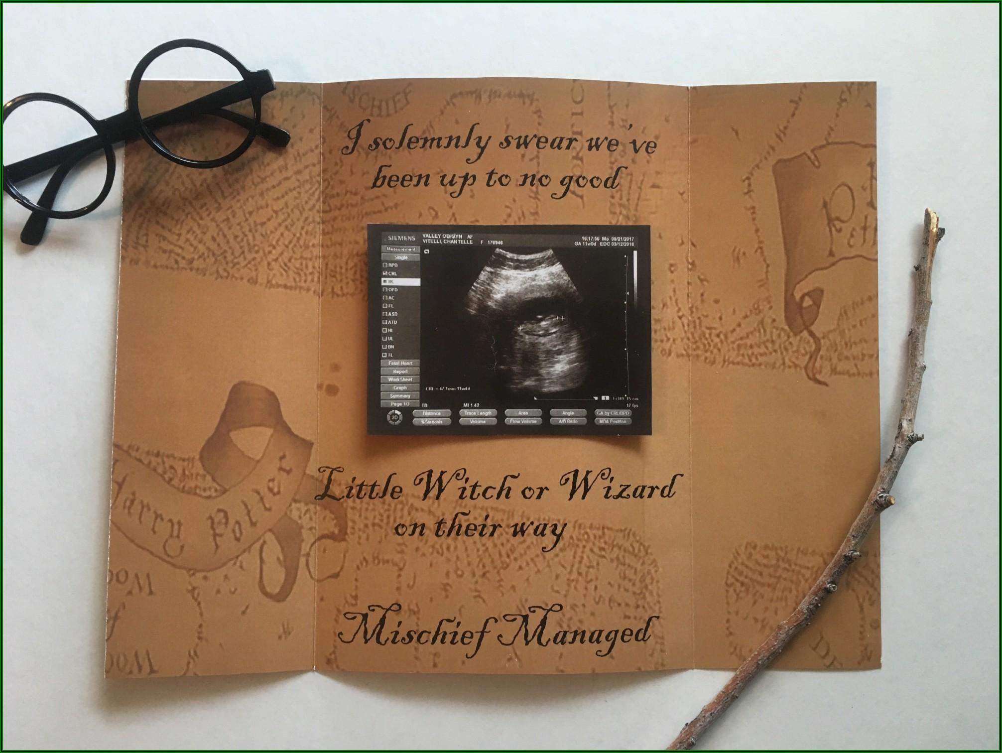 Nerdy Pregnancy Announcement Ideas
