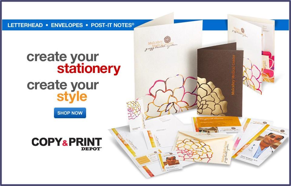 Office Depot Envelope Printing