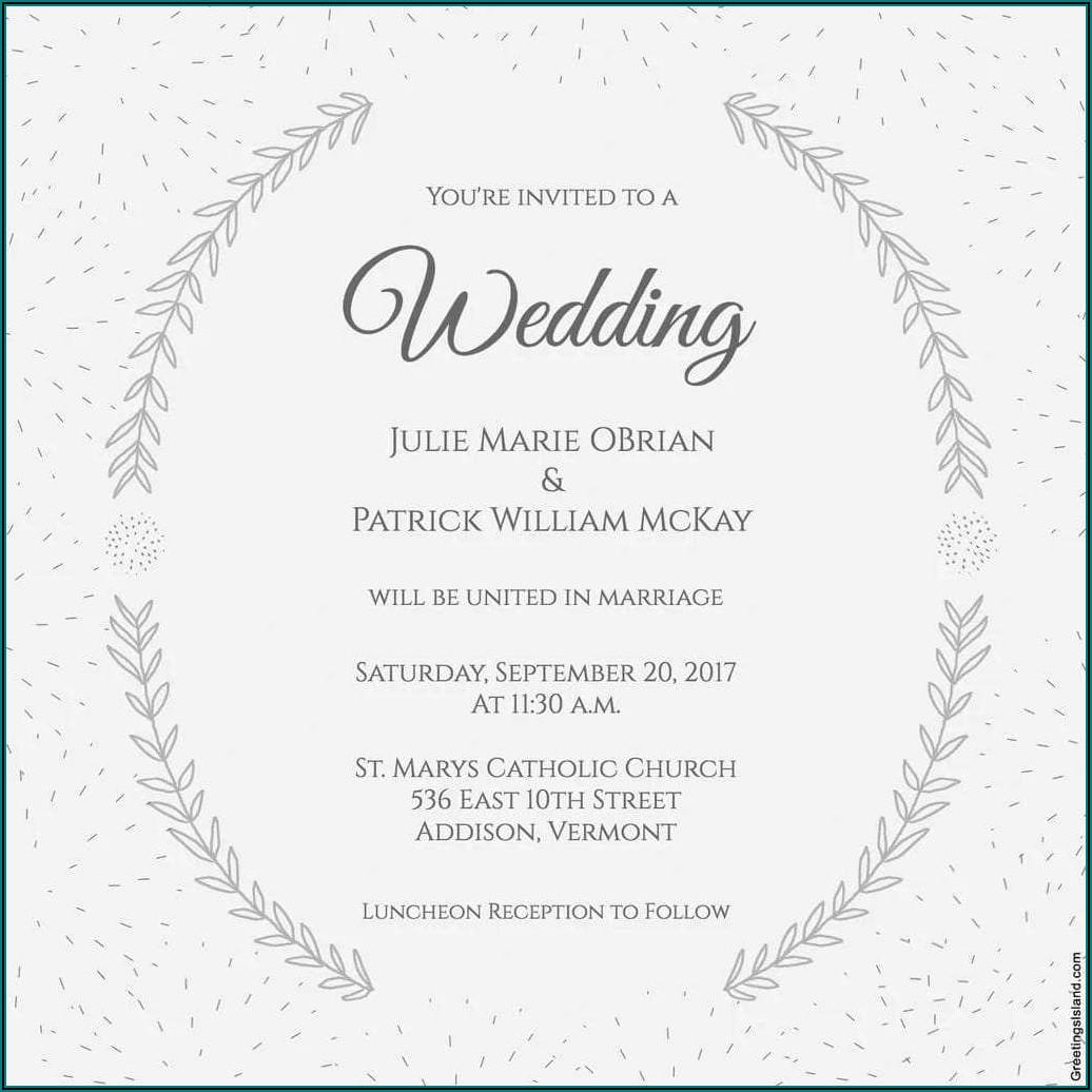 Online Wedding Invitation Maker For Sister Marriage