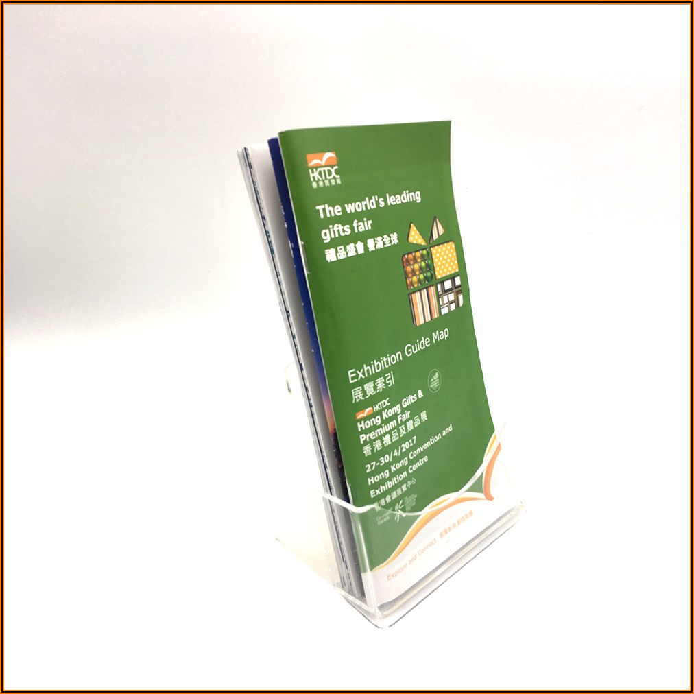 Outdoor Brochure Holder With Stake