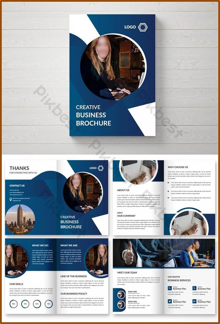 Pages Brochure Template Free