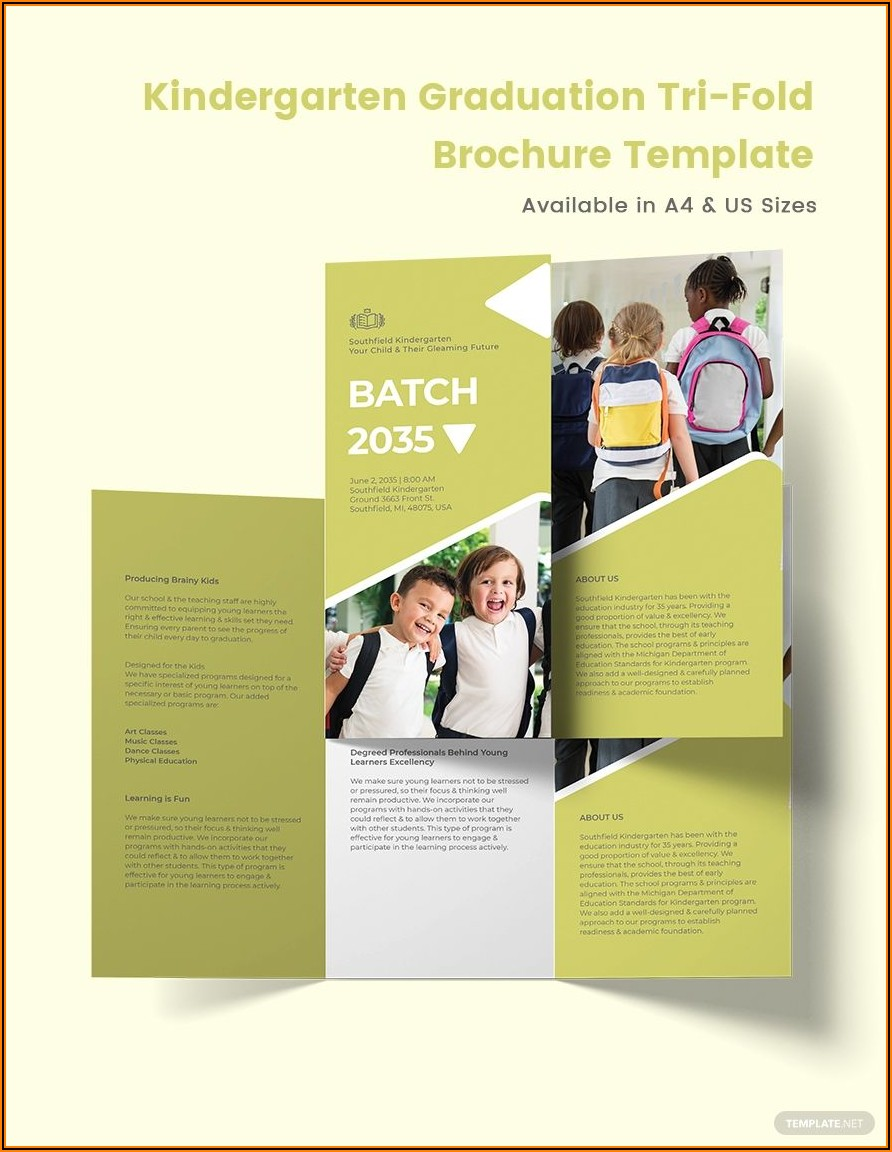 Pages Brochure Template Mac