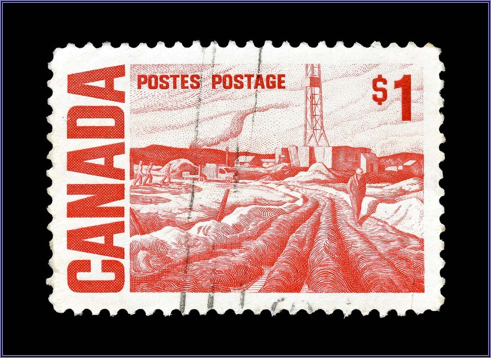 Postage For 9x12 Envelope Canada