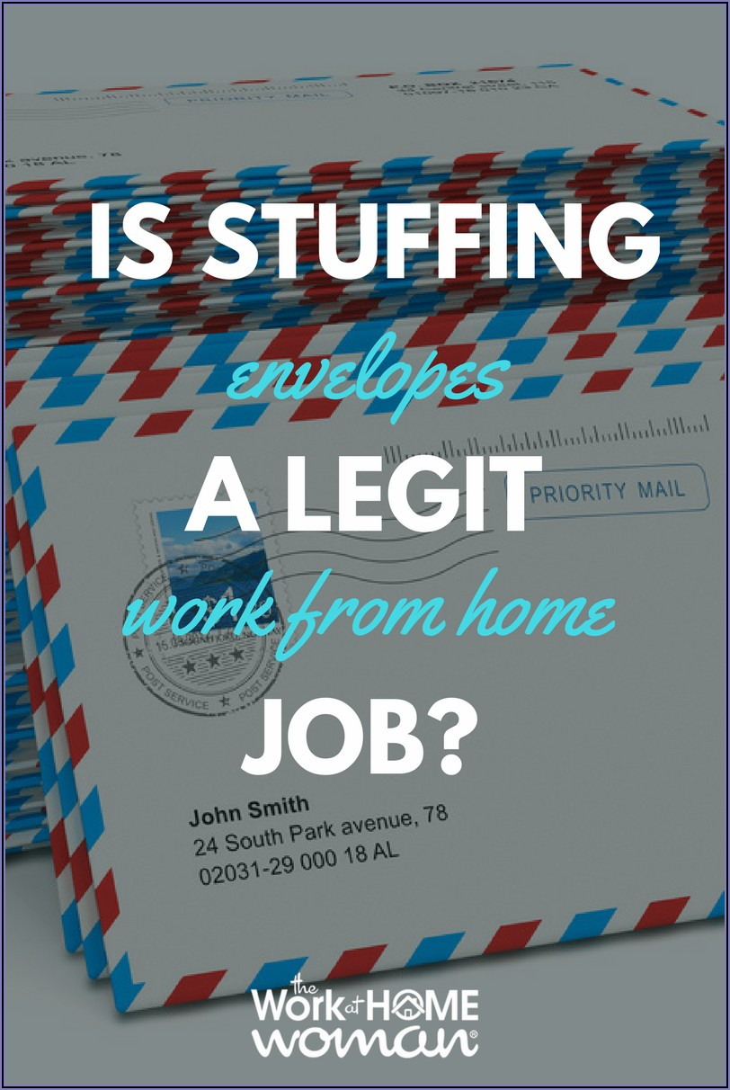 Real Work From Home Jobs Stuffing Envelopes