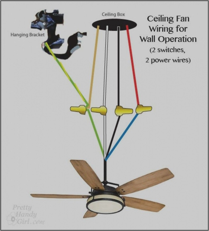Red Wire Hunter Ceiling Fan Wiring Diagram With Remote Control