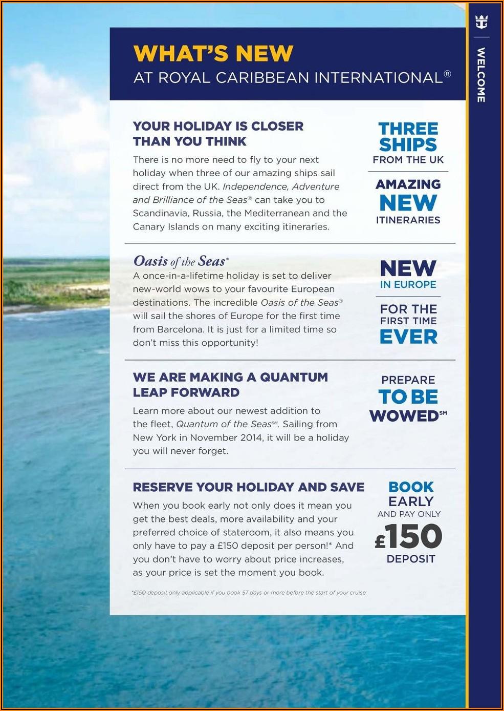 Royal Caribbean Shore Excursions Brochure Pdf