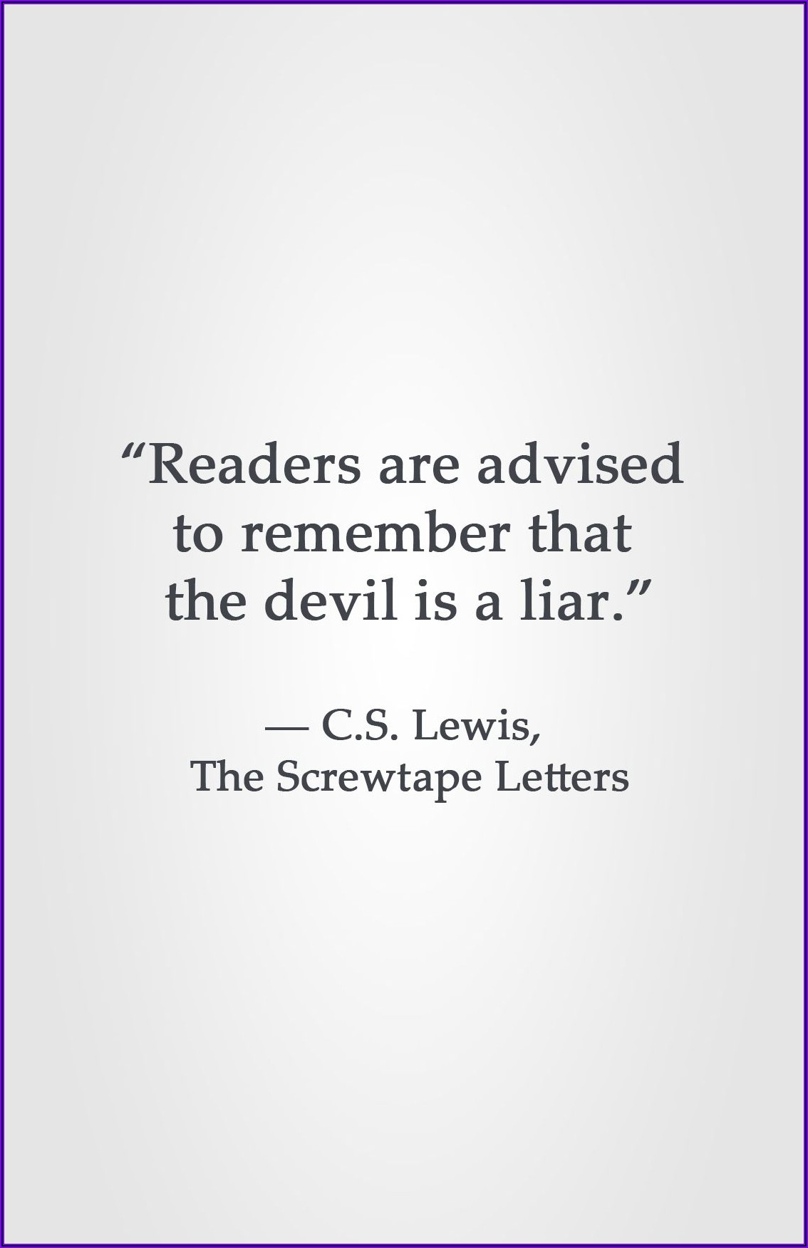 The Screwtape Letters Quotes I Will Cause Anxiety