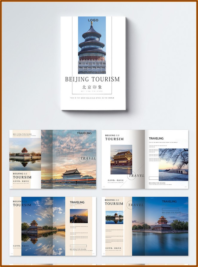 Tourism Brochure Template Free Download