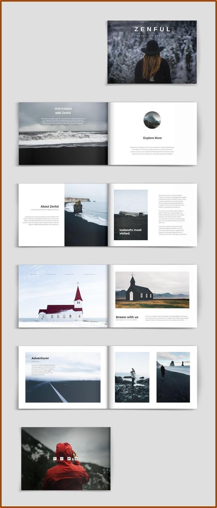 Travel Brochure Layout Design