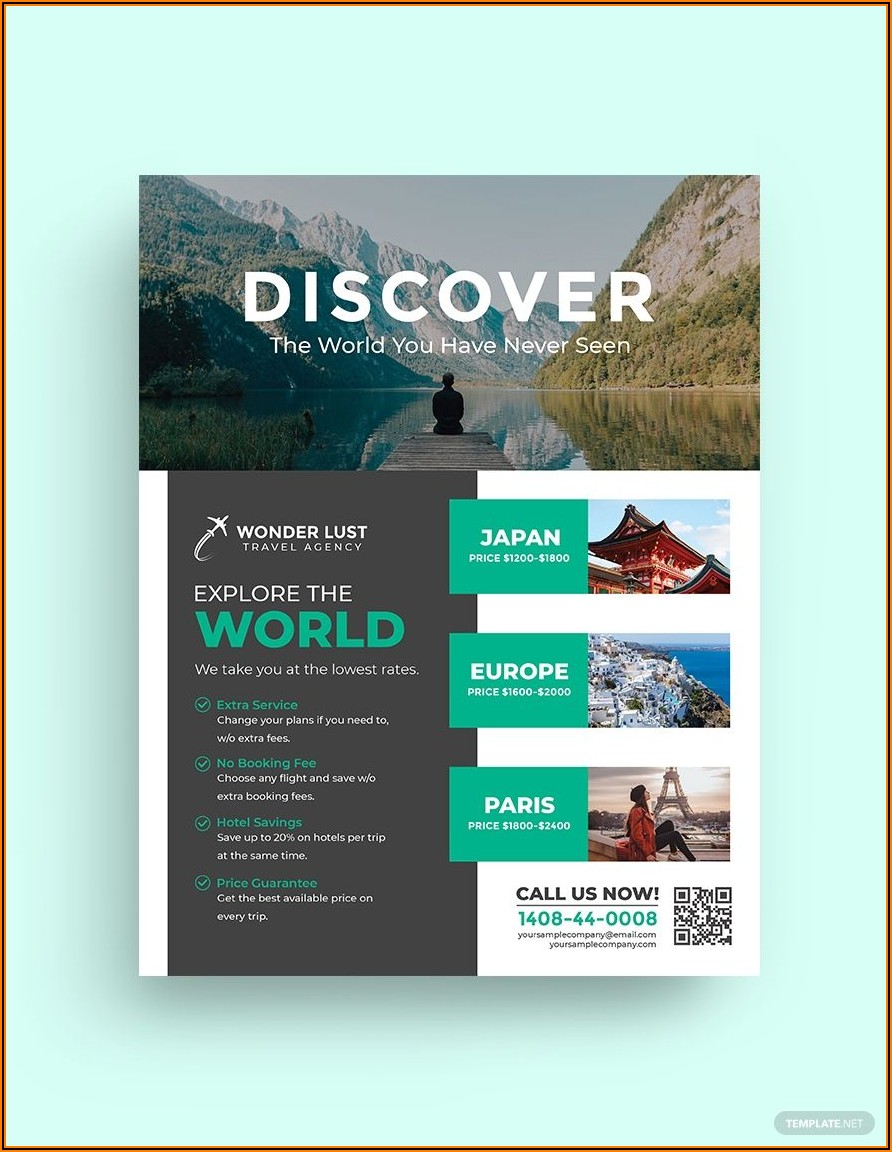 Travel Guide Template Free