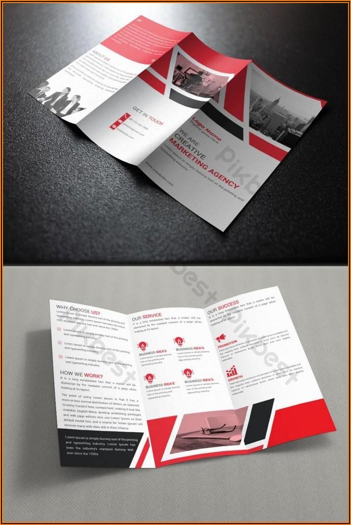 Tri Fold Brochure Design Ai