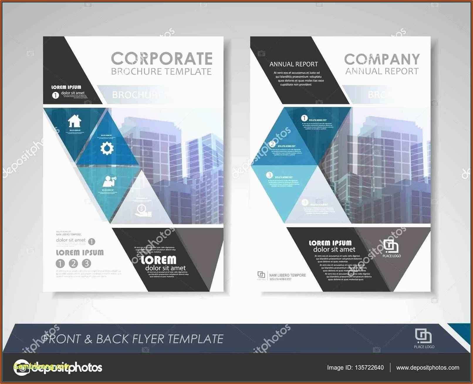 Tri Fold Brochure Template A4