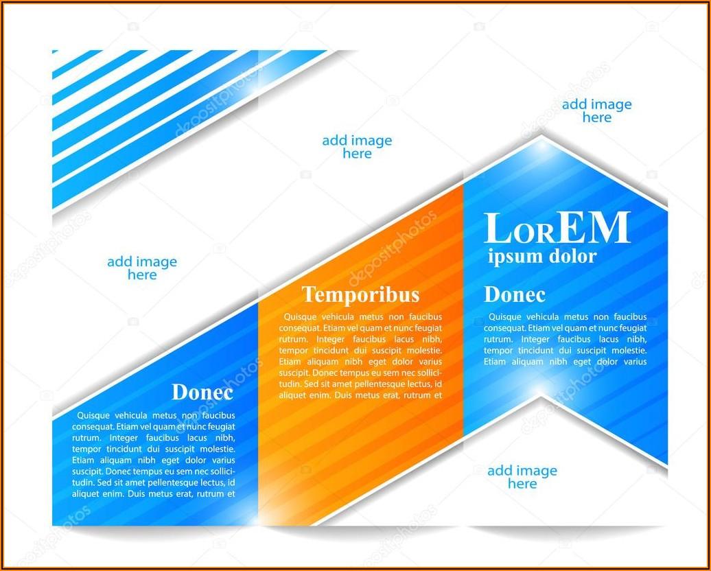 Tri Fold Brochure Template Adobe Illustrator