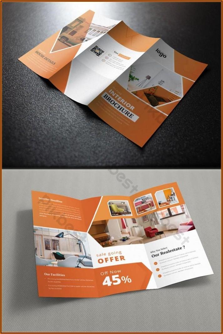 Tri Fold Brochure Template Design Ai