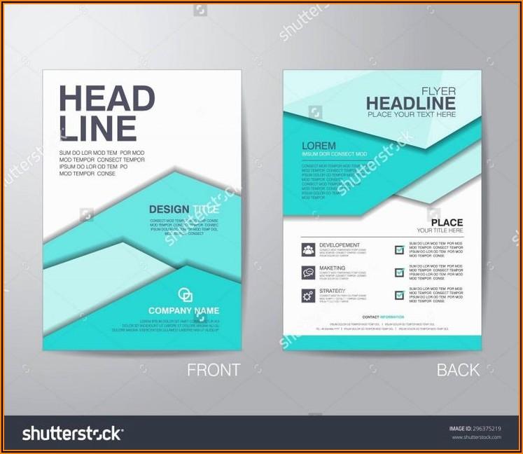 Tri Fold Indesign Brochure Templates Free