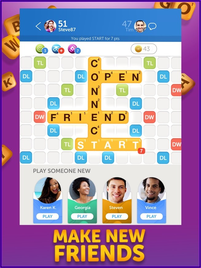 Unscramble Letters To Make Words With Friends
