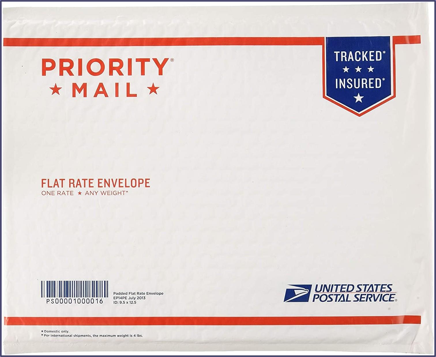 Usps Flat Rate Envelope Dimensions