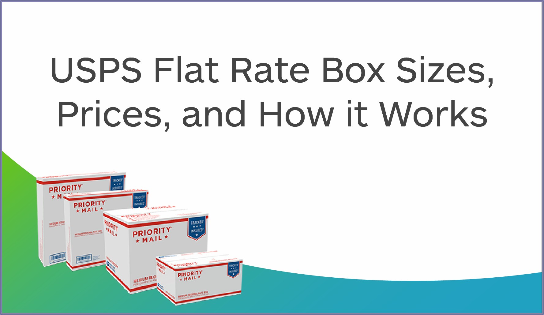 Usps Postage Rates Boxes