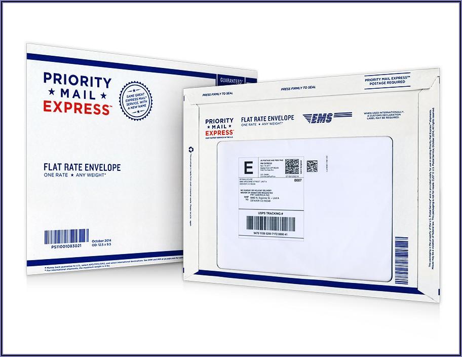 Usps Priority Letter Envelope