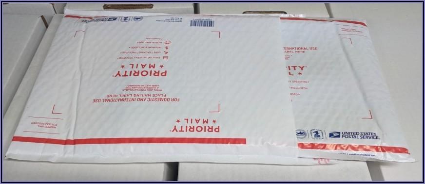 Usps Priority Mail Tyvek Envelope Rates