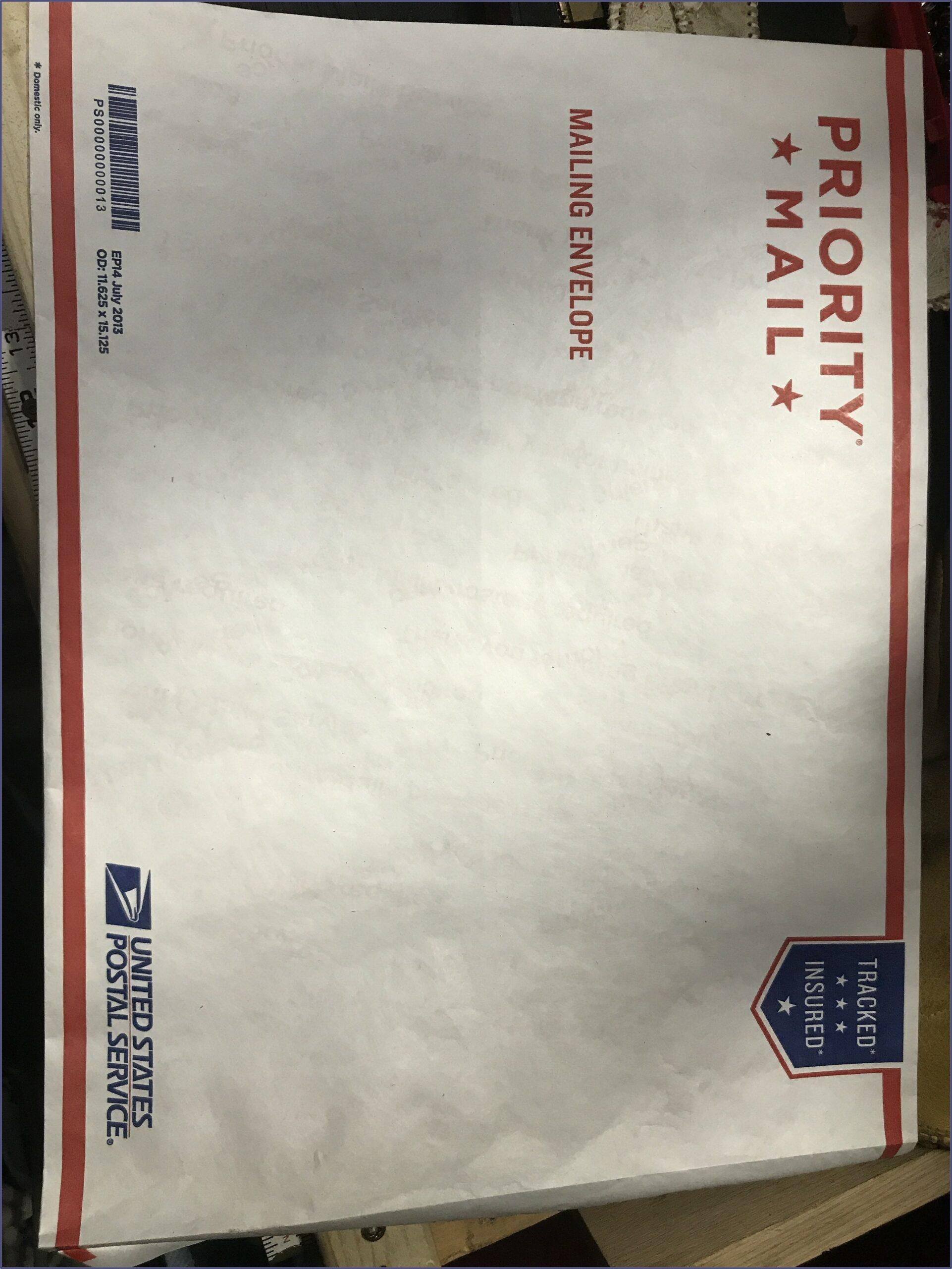 Usps Shipping Envelopes Sizes