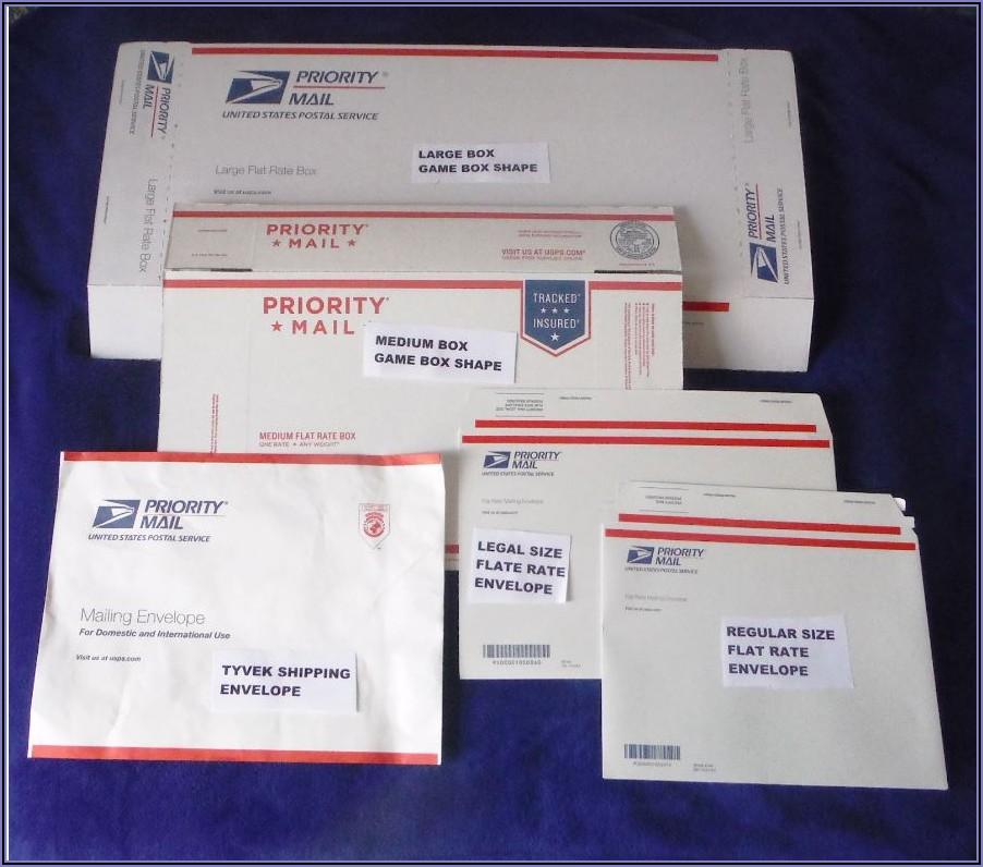 Usps Tyvek Envelope Priority Flat Rate
