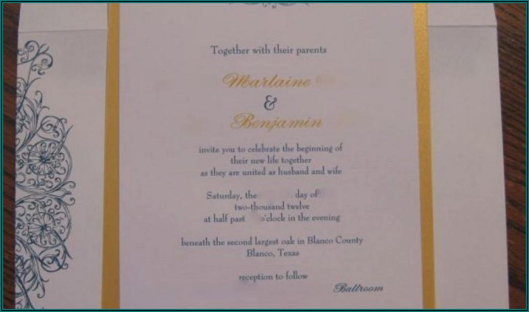 Vistaprint Wedding Invitation Reviews