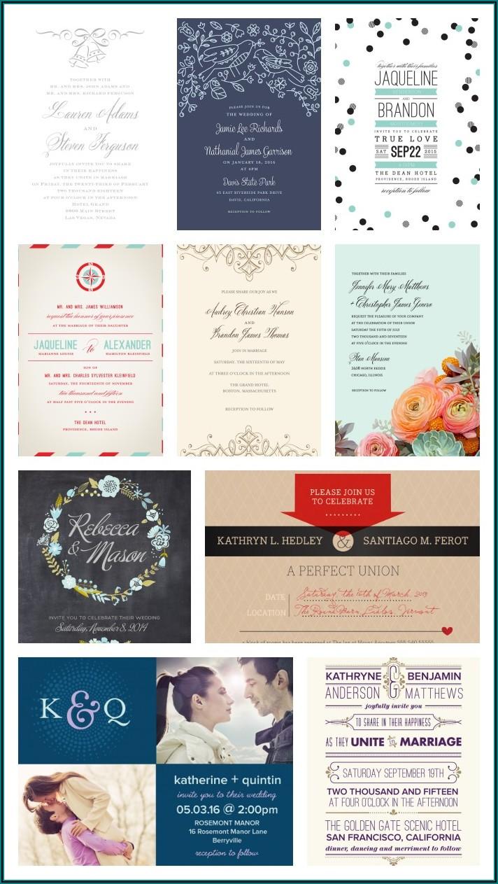 Walmart Wedding Invitations And Rsvp Cards