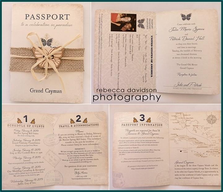 Wedding Invitation Kits Canada