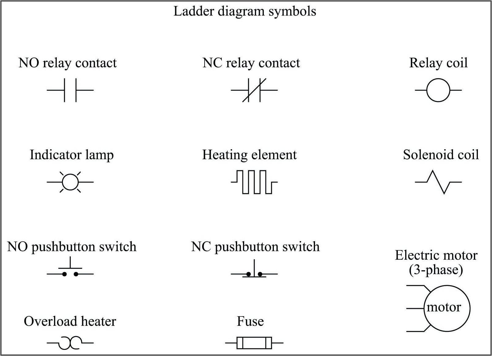 Wiring Diagram Symbols Relay