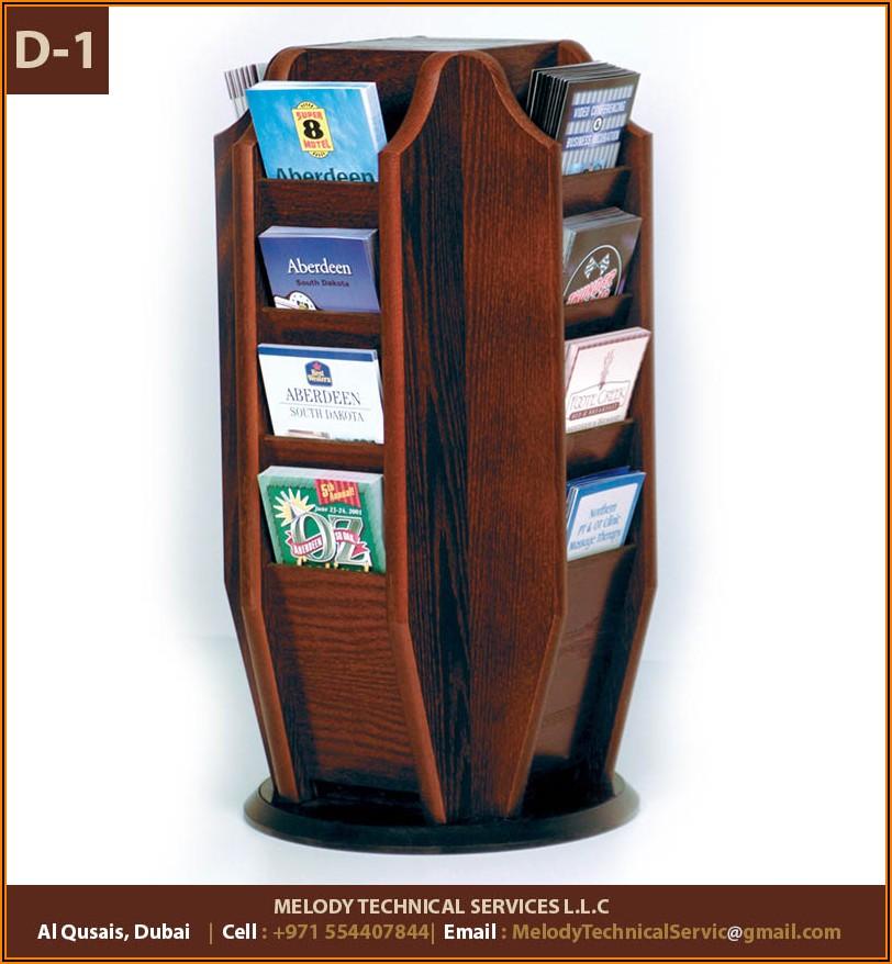 Wooden Brochure Holders Displays