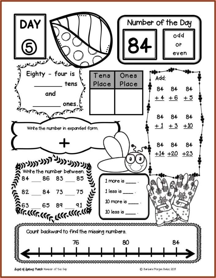 1st Grade Math Worksheets More Than Less Than