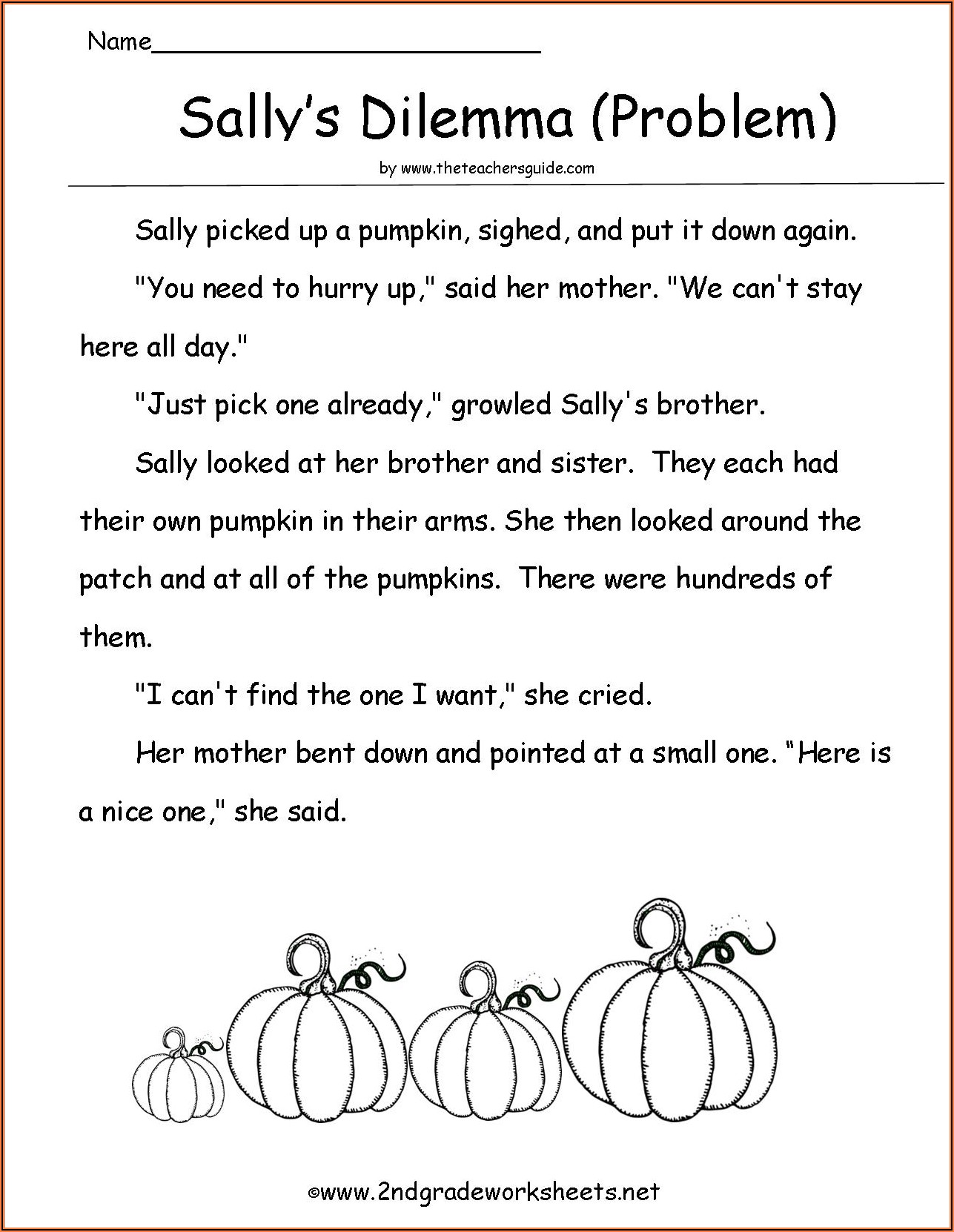 2nd Grade Halloween Worksheets