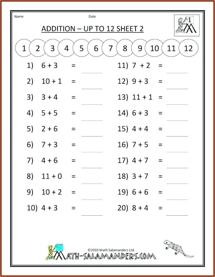 2nd Grade Mathematics Worksheets