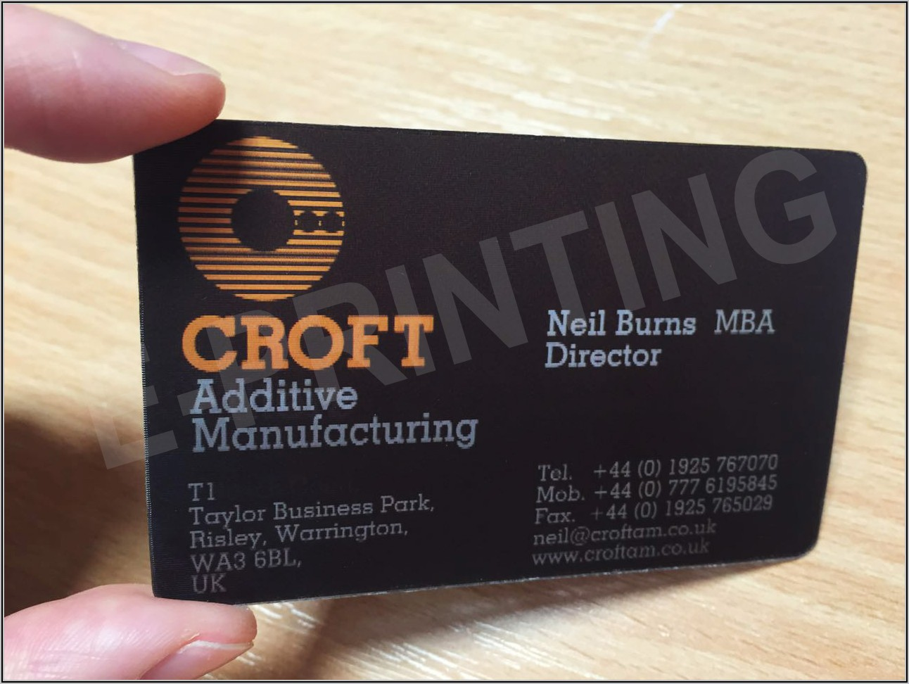 3d Business Cards Printing