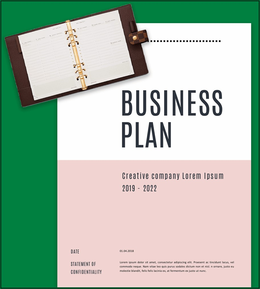 5 Year Sales Business Plan Template