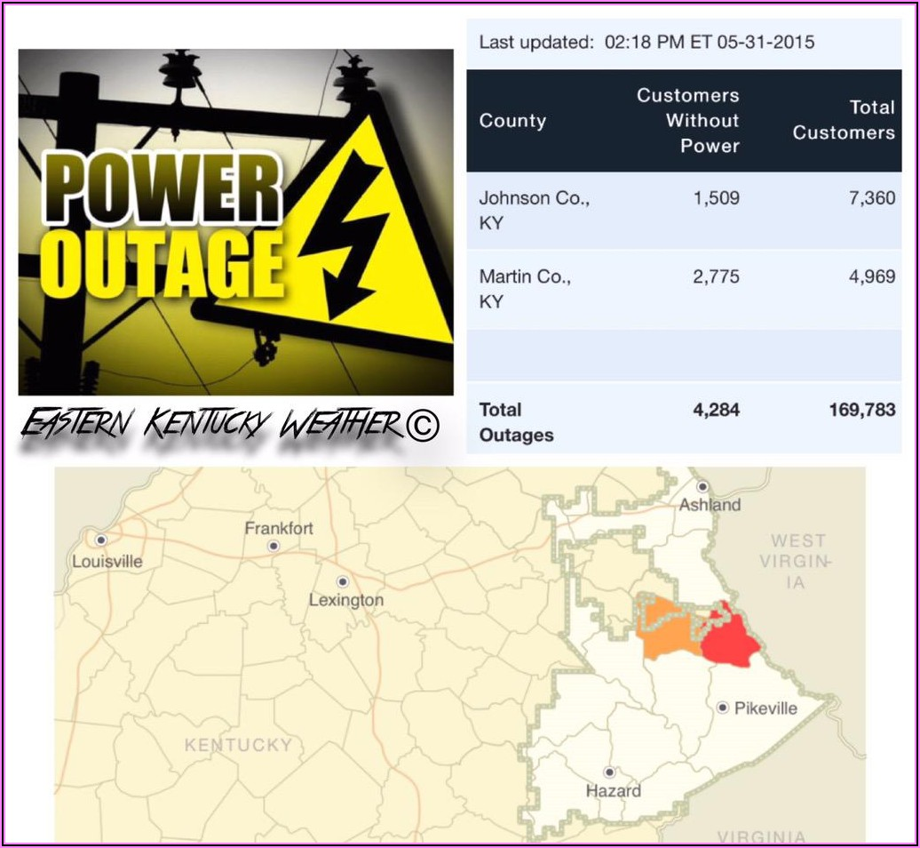 Aep Power Outage Map Ky