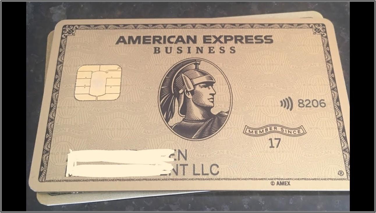 American Express Business Gold Card Login