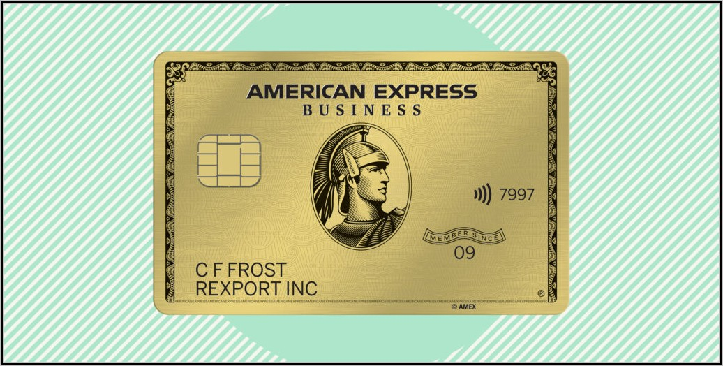 American Express Business Gold Card Requirements