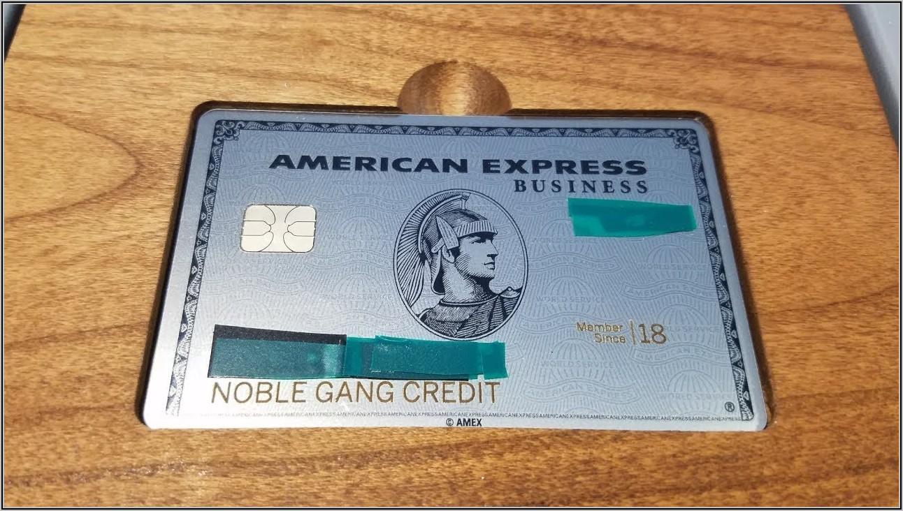 Amex Business Platinum Card Login