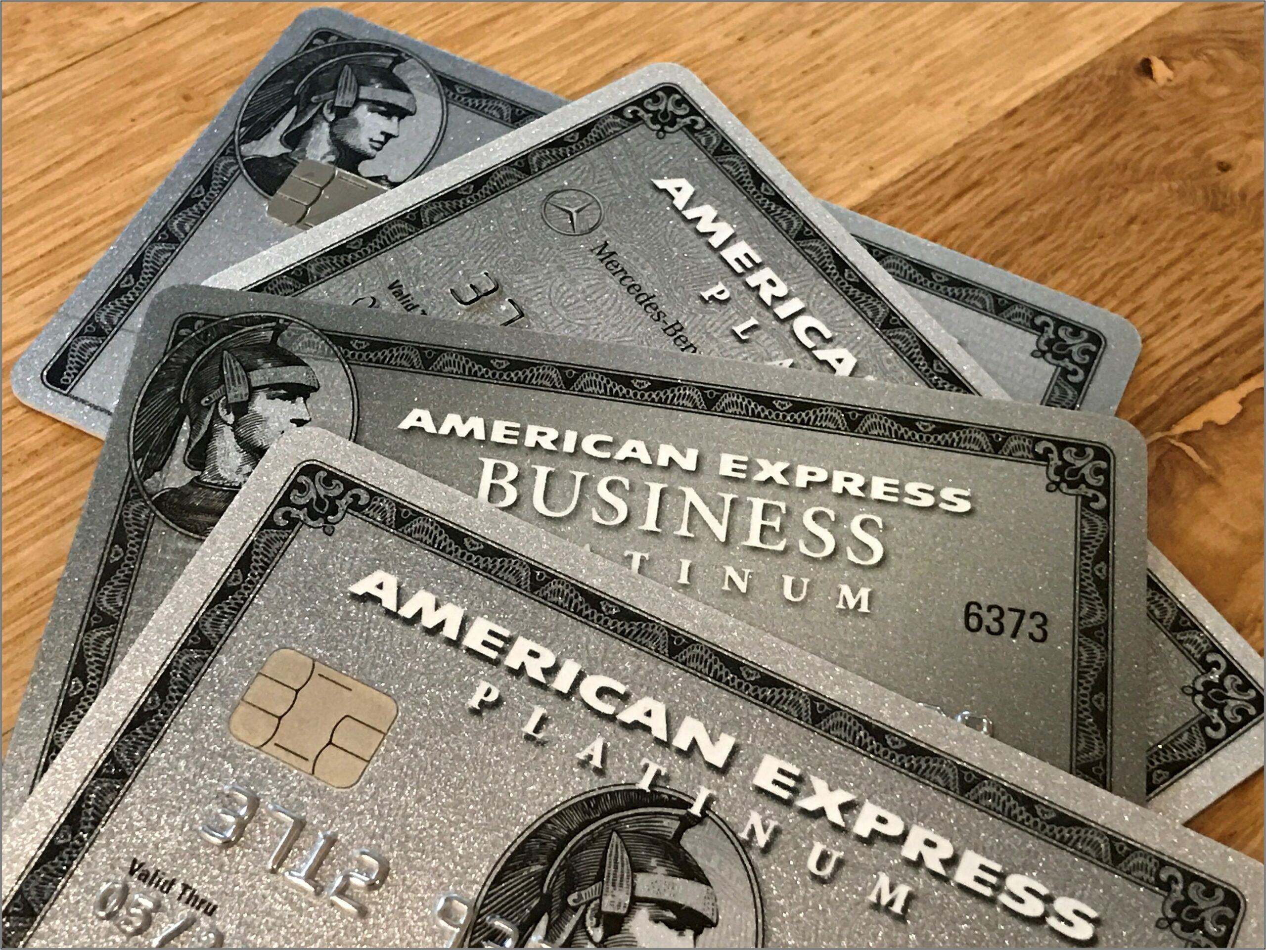 Amex Business Platinum Card Material