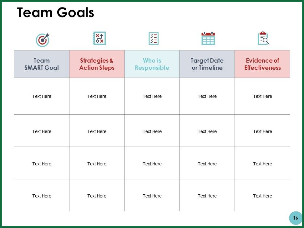 Annual Business Plan Powerpoint Template