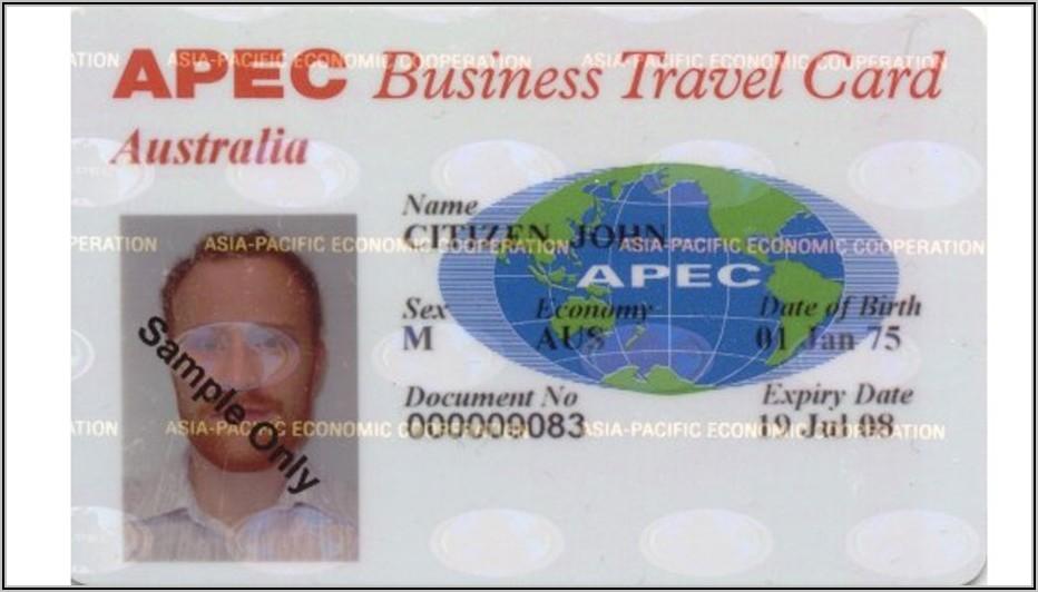 Apec Business Travel Card