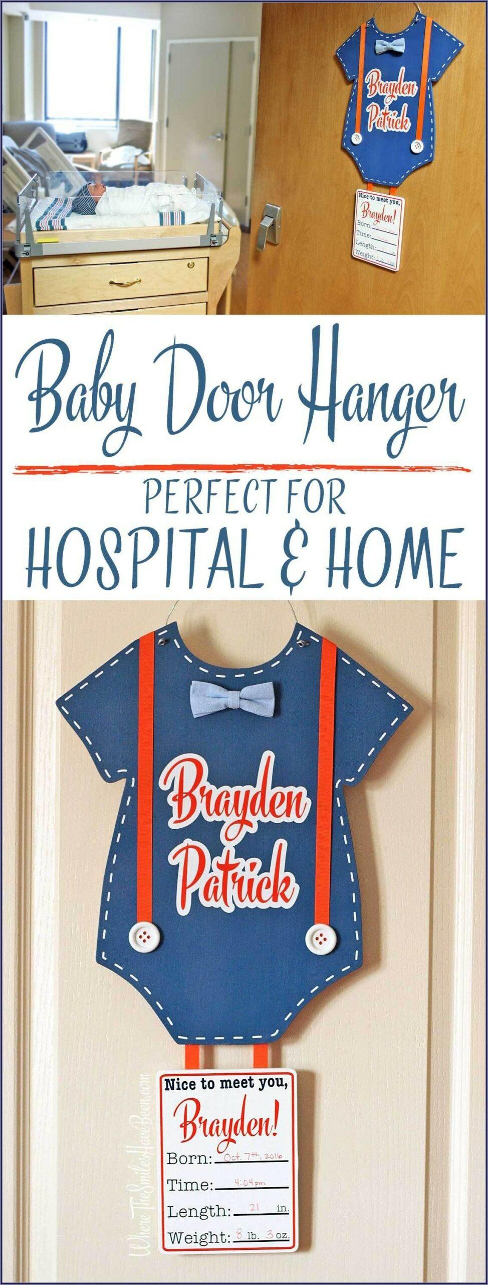 Baby Door Hangers For Hospital